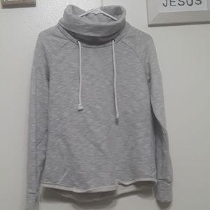GAP  drawstring cowl neckline sweater sz S